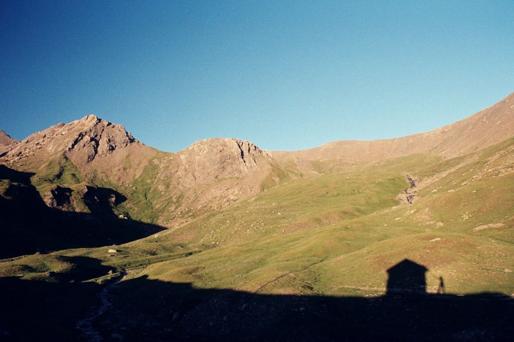 biwak pod Col des Tures Piemont