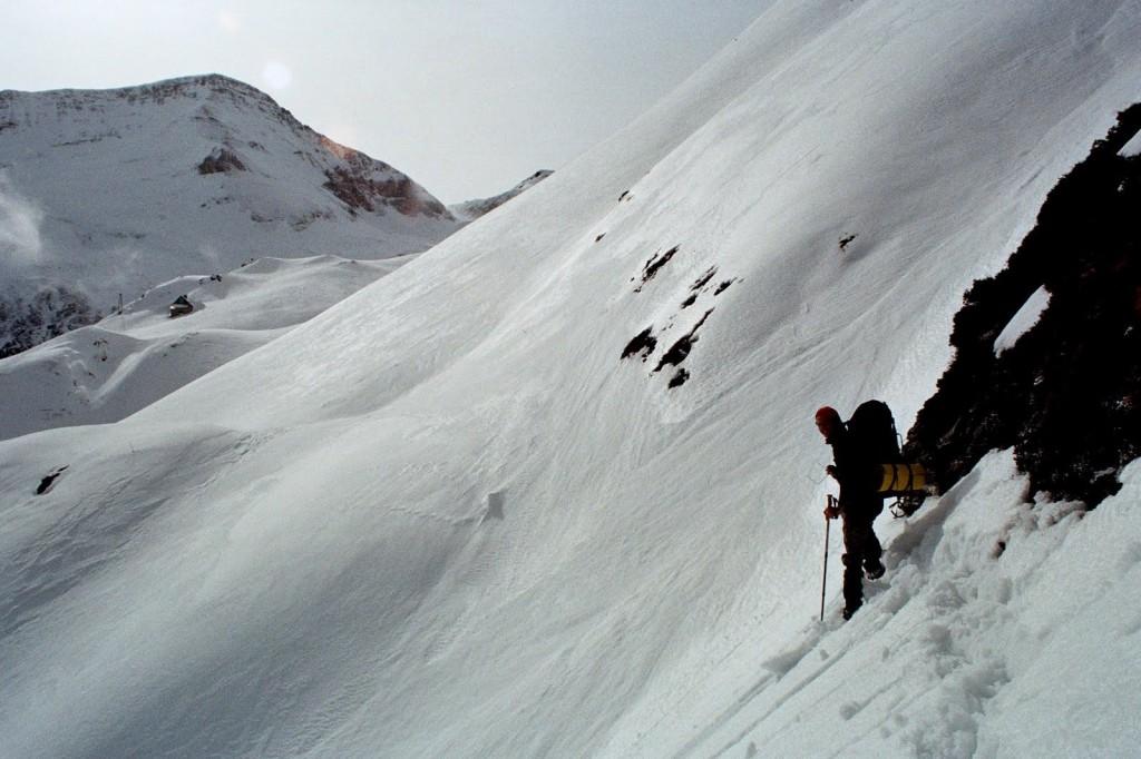 GR 10 Pireneje. luty