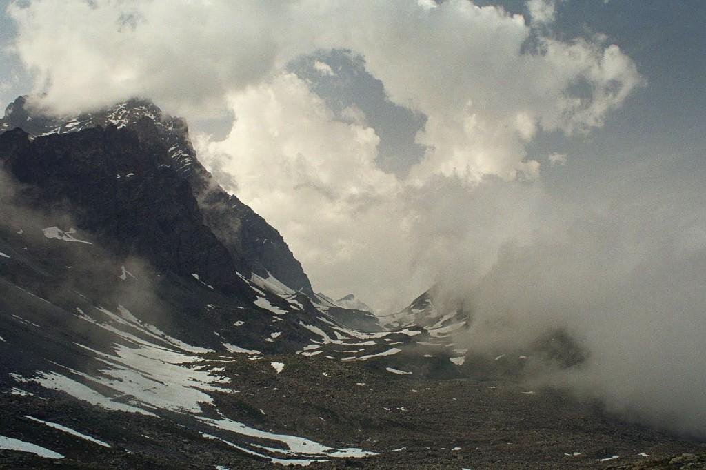Monviso, Alpy, lipiec