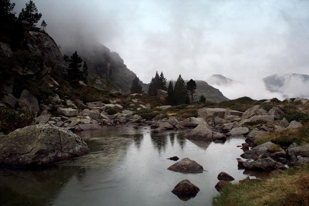 Pireneje, okolice ref la Ruhle