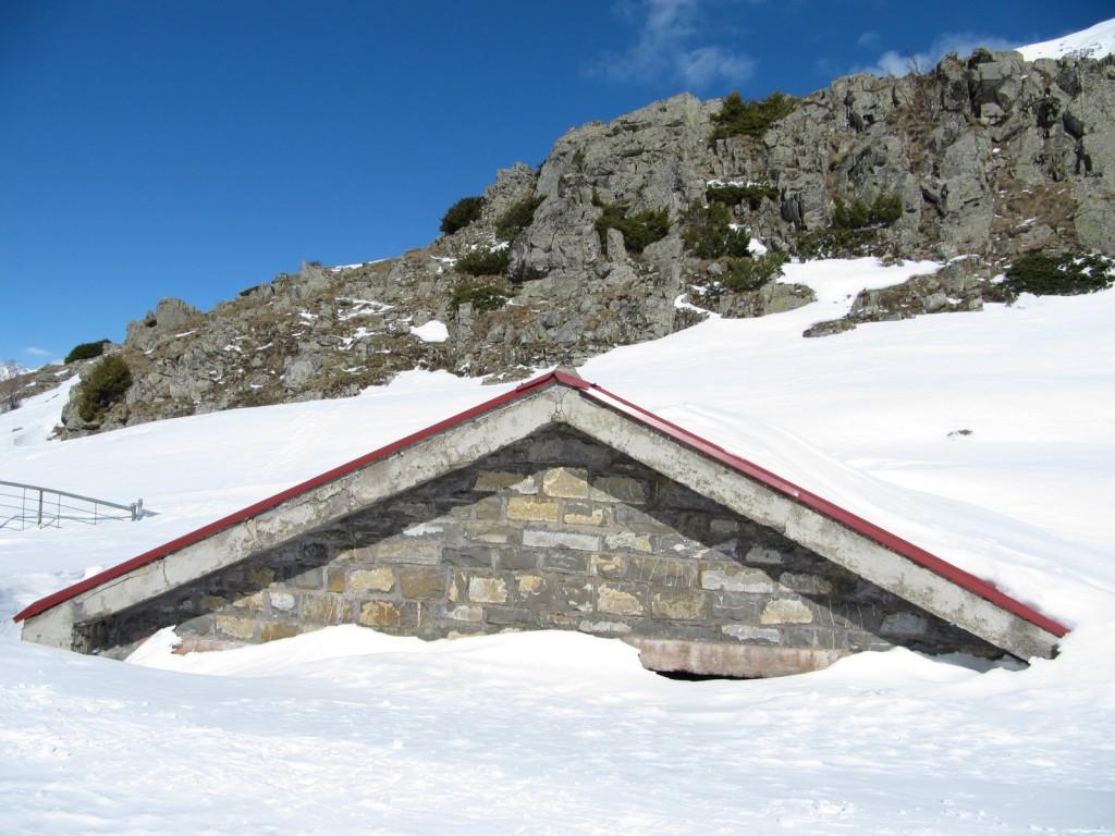 Pireneje , styczeń
