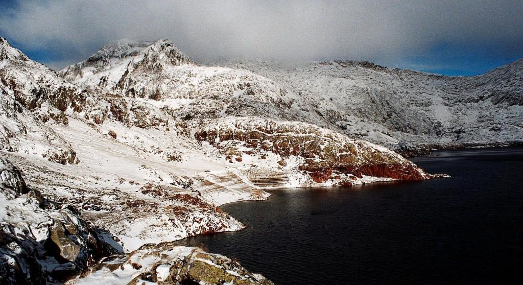 Lac Certascan, Pireneje, październik