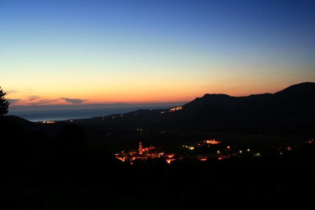 Calenzana, Korsyka, lipiec