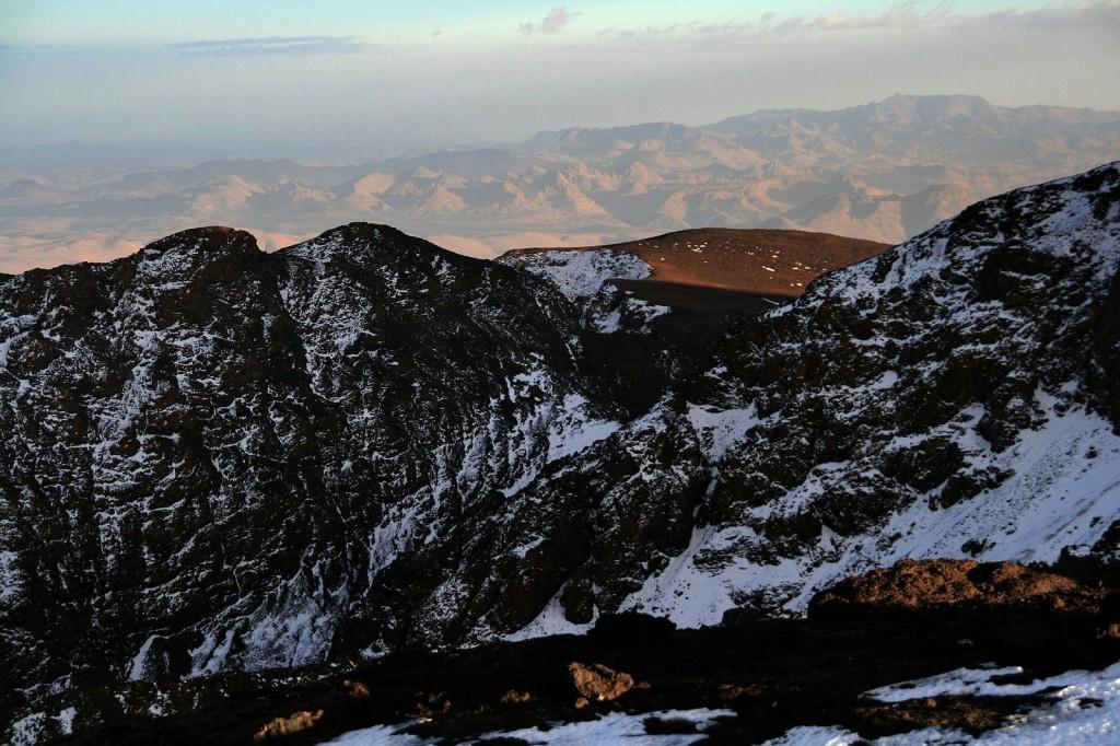 Atlas Wysoki, Maroko, ten  snieg zmieni się w lód już następnego dnia