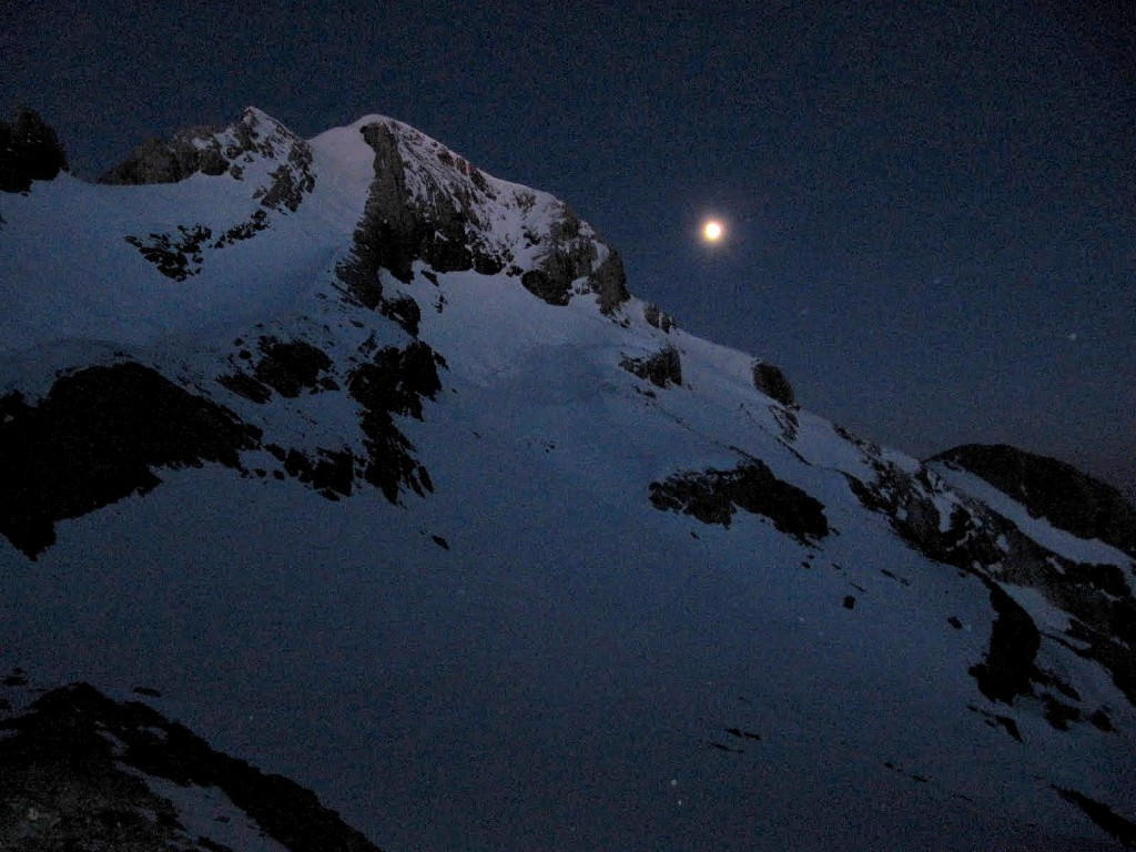 Monte Perdido, czerwiec, Pireneje