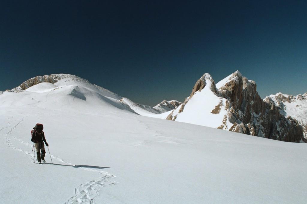 Constantiza, z wypłaszczenia poniiżej szczytu Secus
