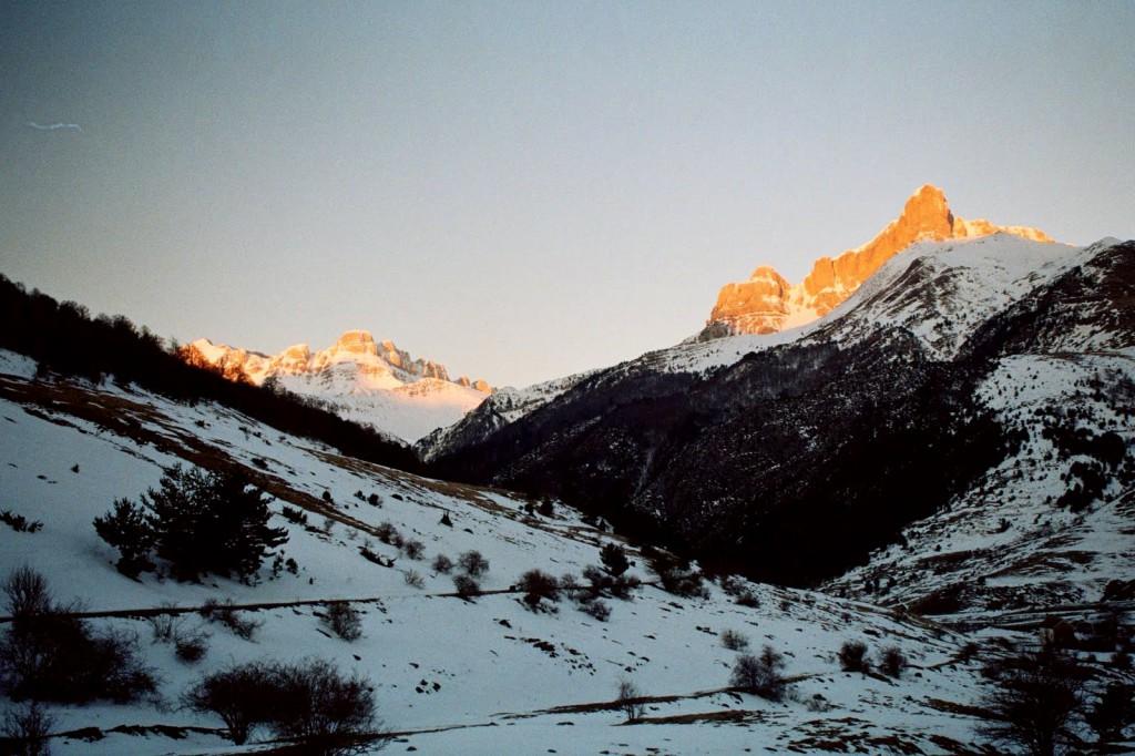 Guarinza, wschód słońca 7 marca