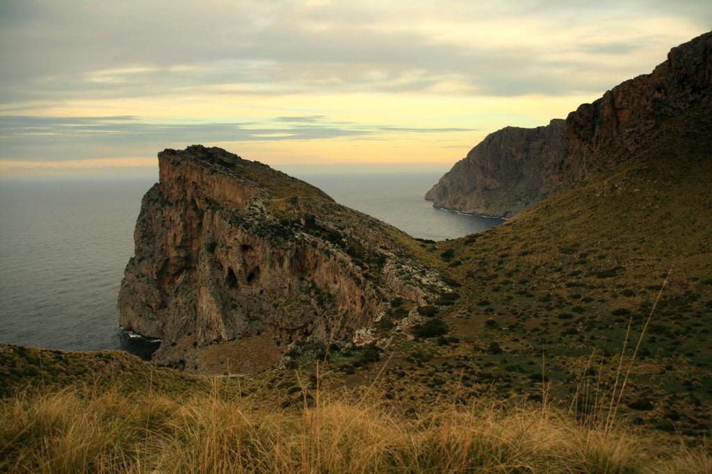 Majorka , pn wybrzeże, widok z wyjścia z Motrixa