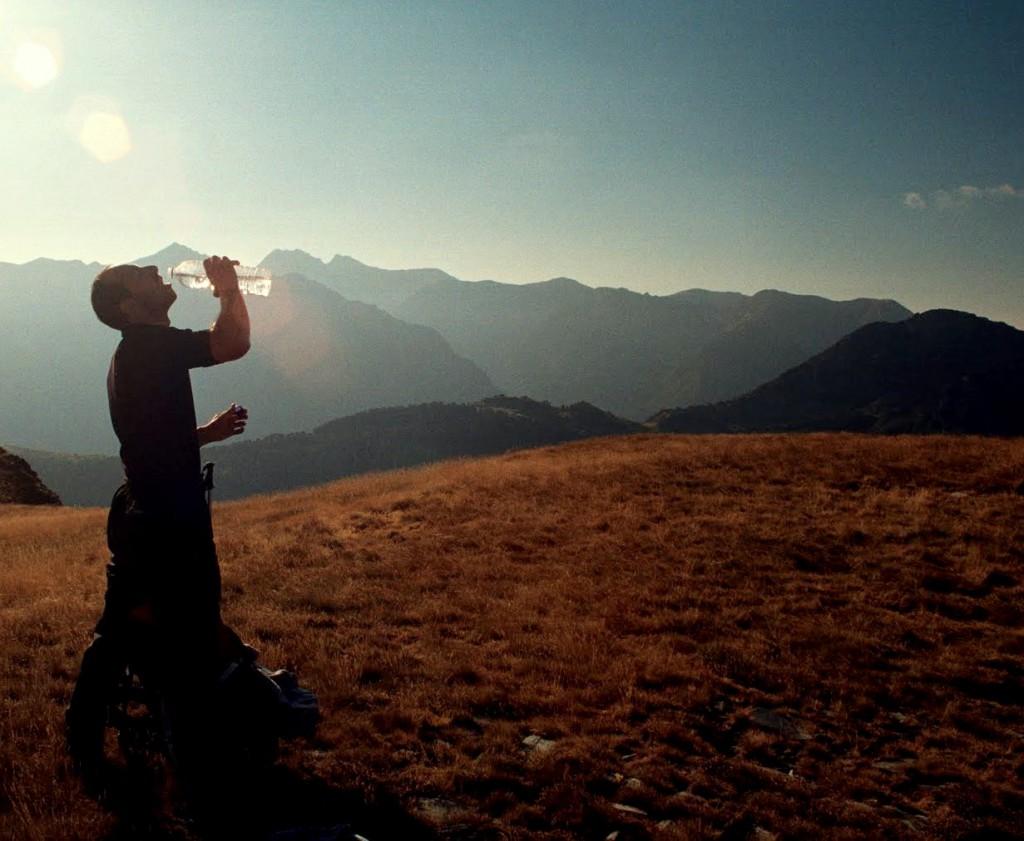 koszulka z wełny, wrzesień Pireneje