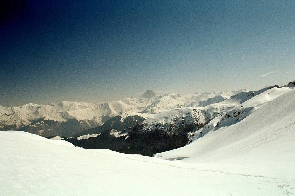 widok z Col de Saoubathou