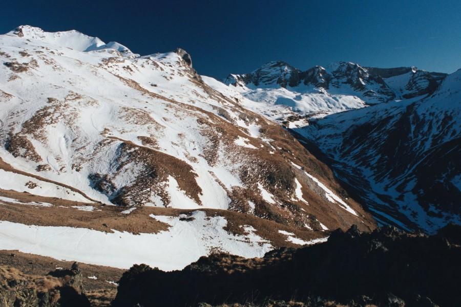 Widok w górę doliny Yenefrito, Jose Antonio de la Fuente