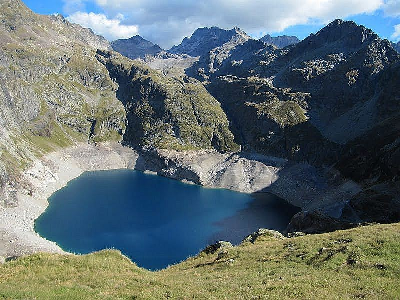 Lac Caillalaouas, fot Jose Antonio de la Fuente