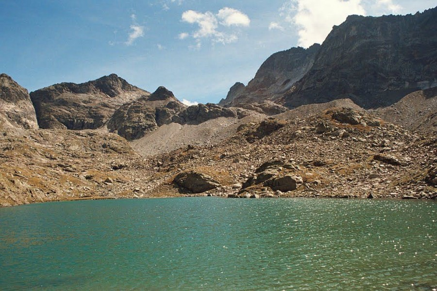 jedno z jezior poniżej Gourg Blanc
