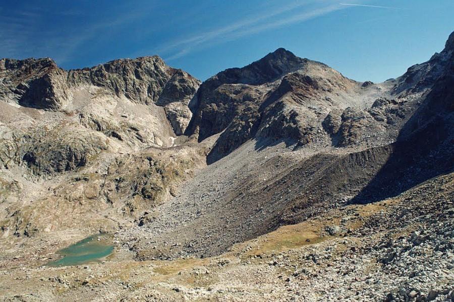 widok z Col Puychergues