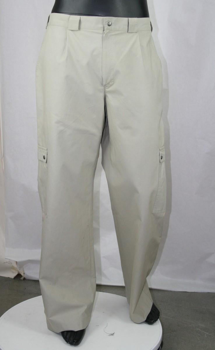 męskie spodnie bawełna z Cordurą