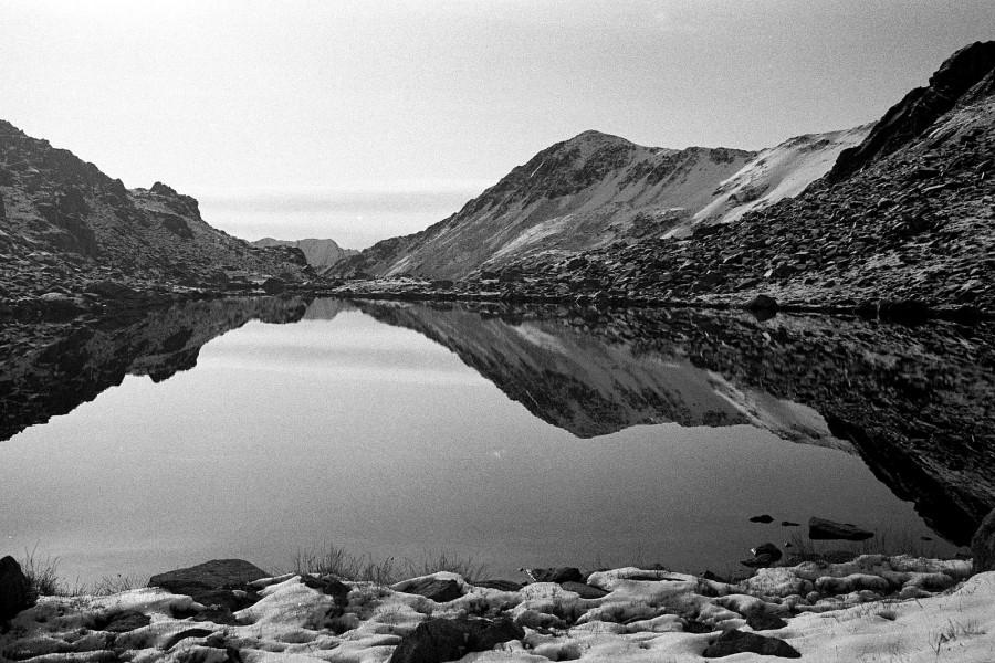Wrzesień 2009, zdjęcie wykonane na czarno białej kliszy