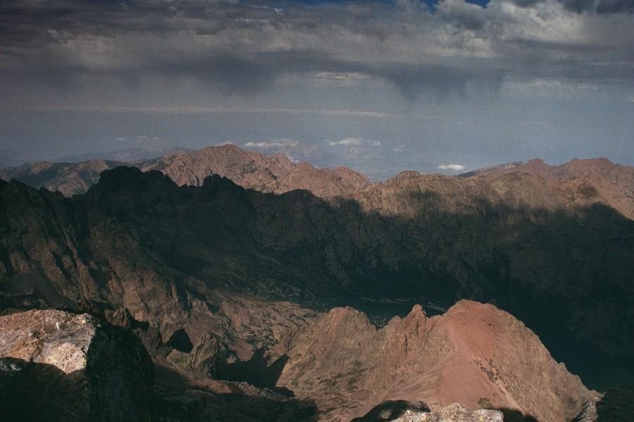 z grani Monte Cinto