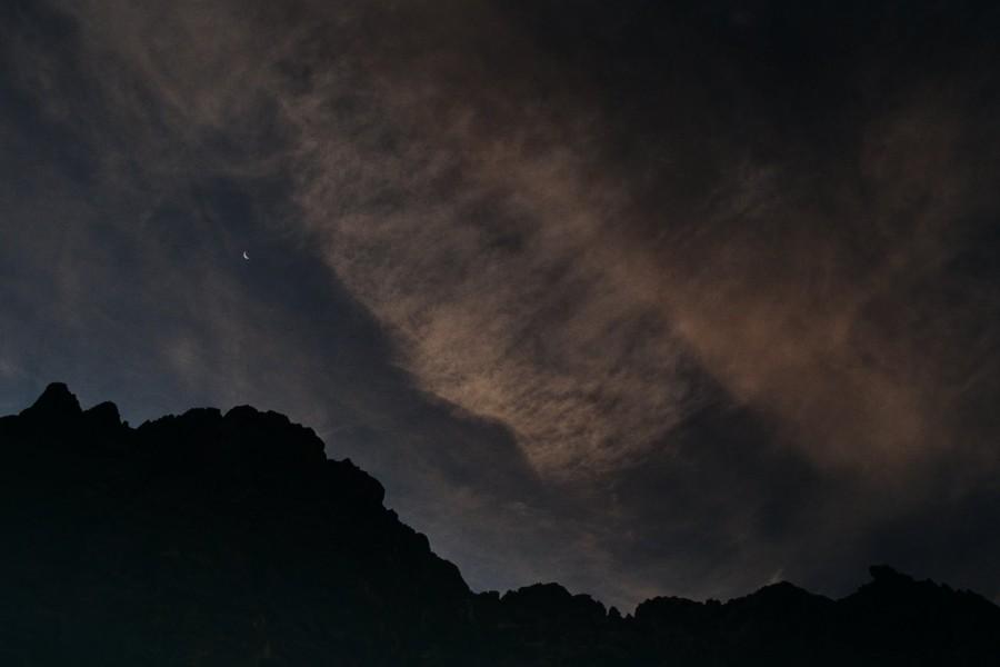 biwak pod gołym niebem