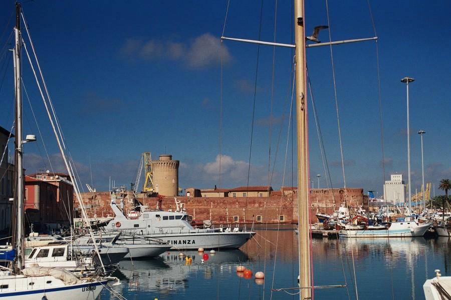 dzielnica Venetia- pełne kanałów nabrzeża w Livorno
