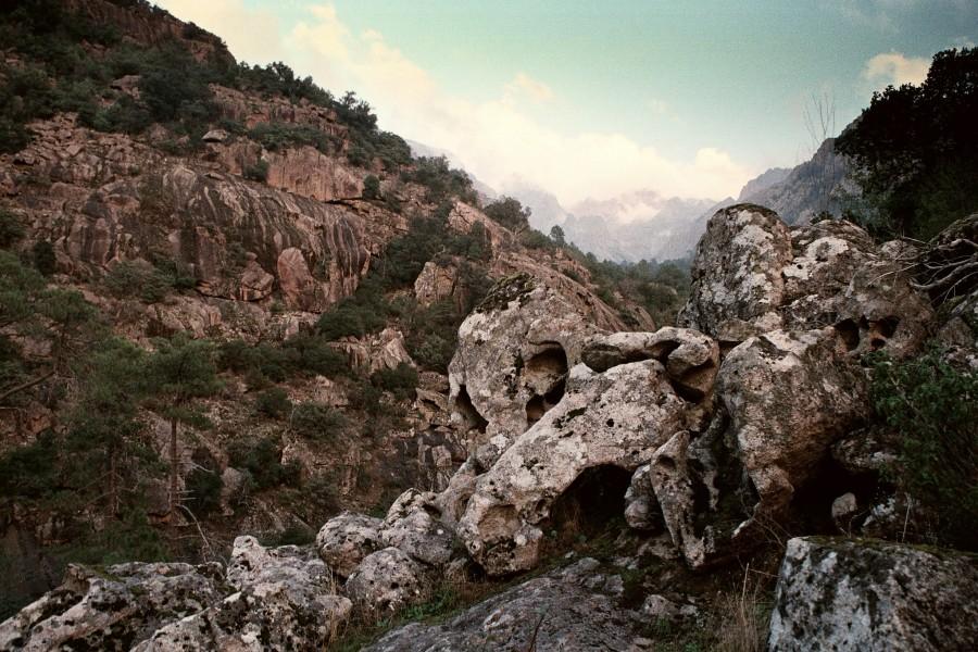 fragment szlaku Mare a Monti- 400 m npm