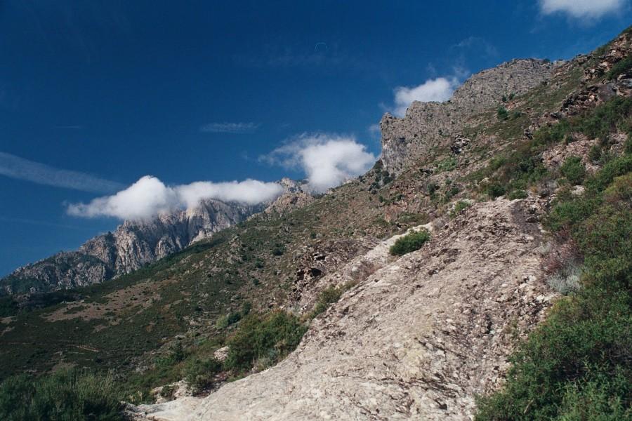 ścieżka przez Gorges Tavignano