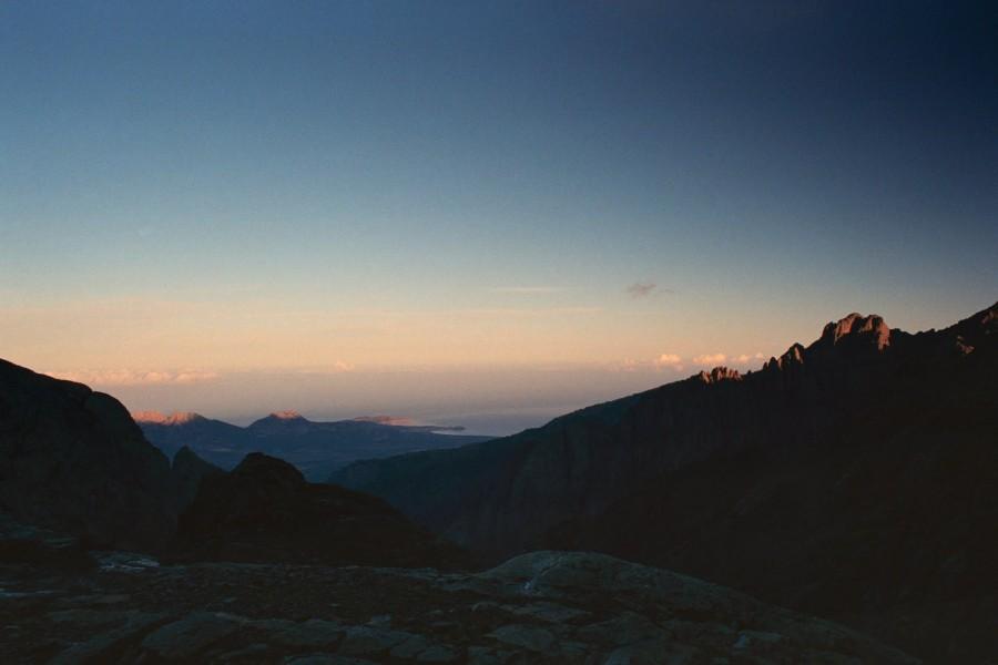 widok na półwysep Calvi