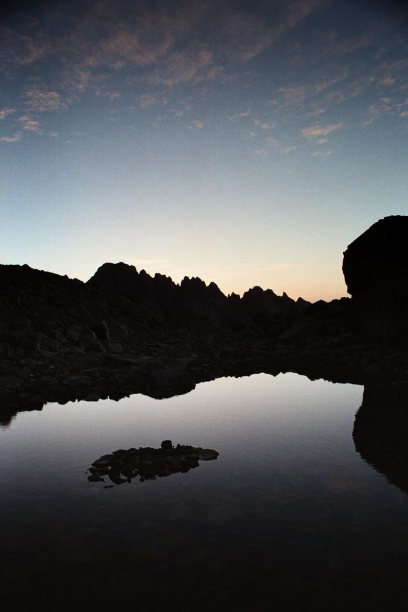 Korsyka, jeziorka pod Monte Cinto