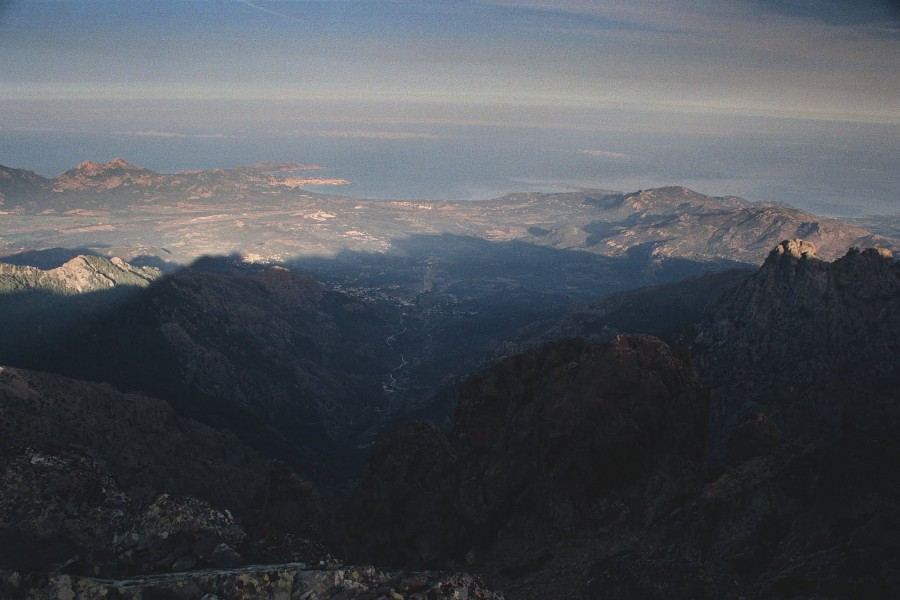 widok na Calvi