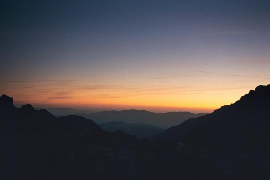 widok z Bocca Taragine na wschód