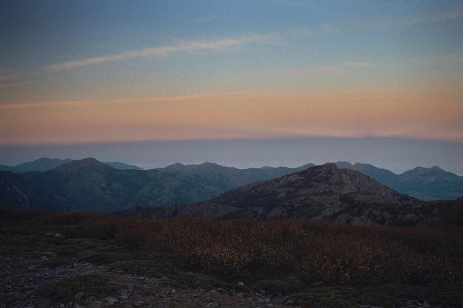widok z Bocca taragine na północ
