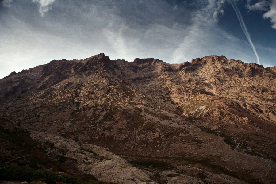 Monte Cinto spod refuge Erco