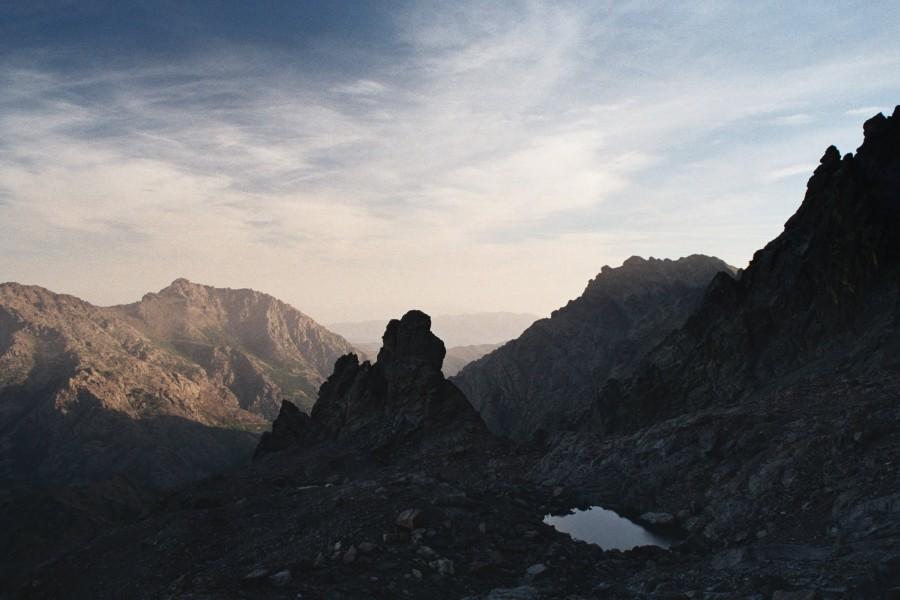 podejście na przełęcz Edoulis