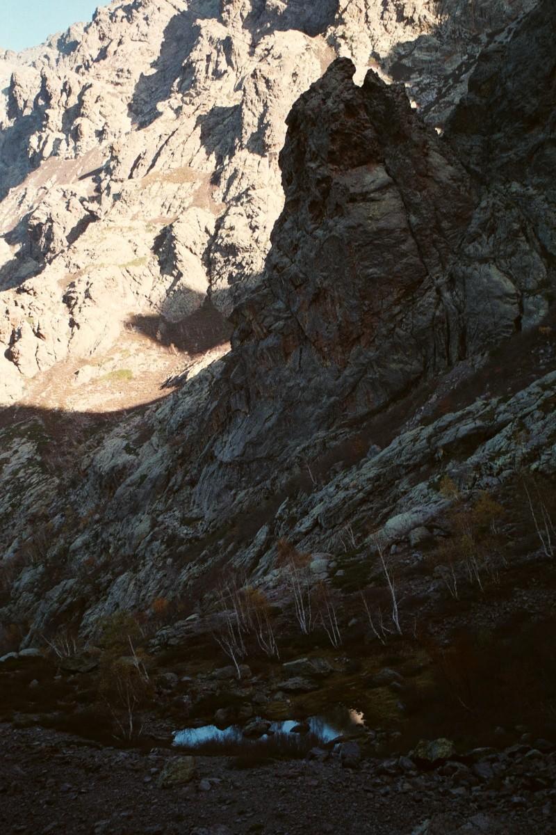 stawek na podejściu pod Monte Cinto