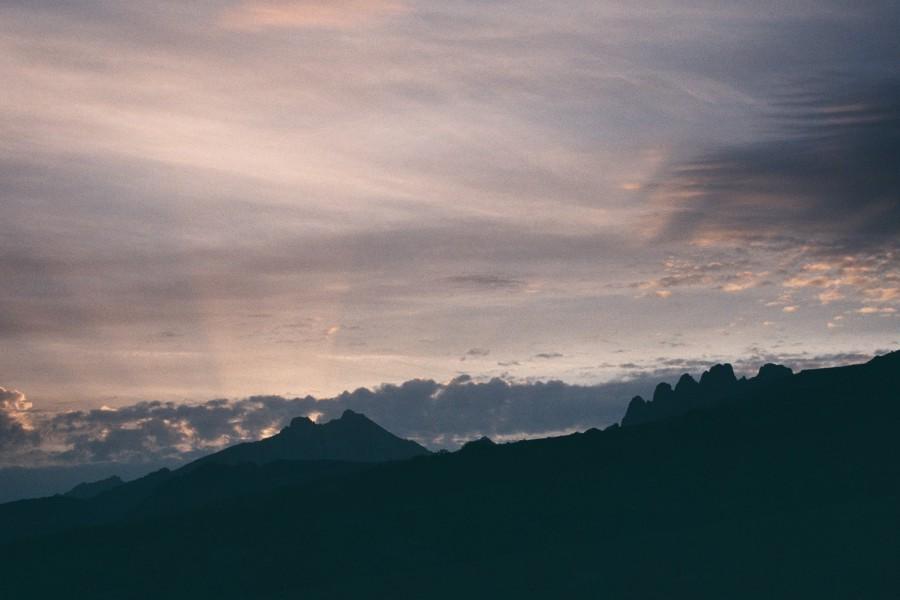 widok w stronę Col di Verde