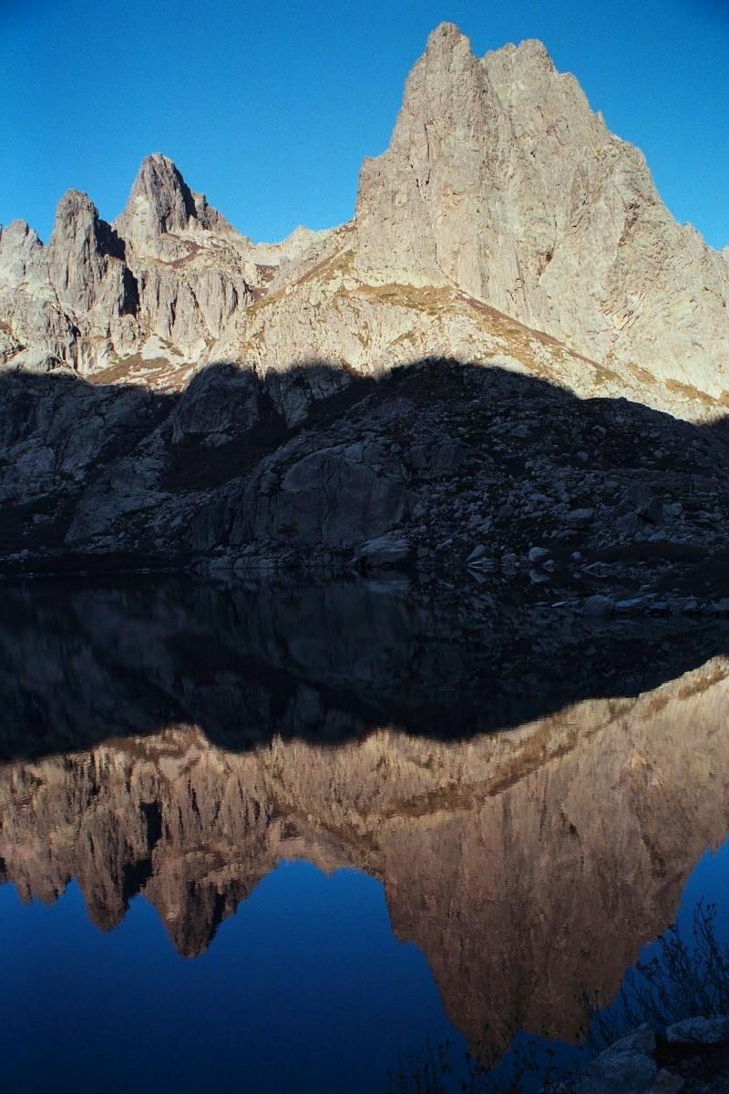 lac Melo, Korsyka, październik