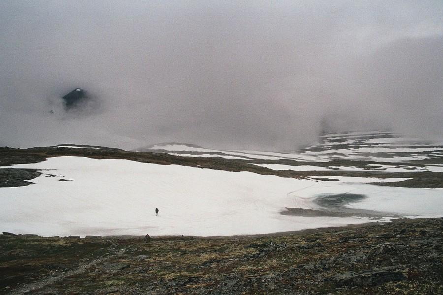 Norwegia, śnieg leżał już powyżej 1000 m