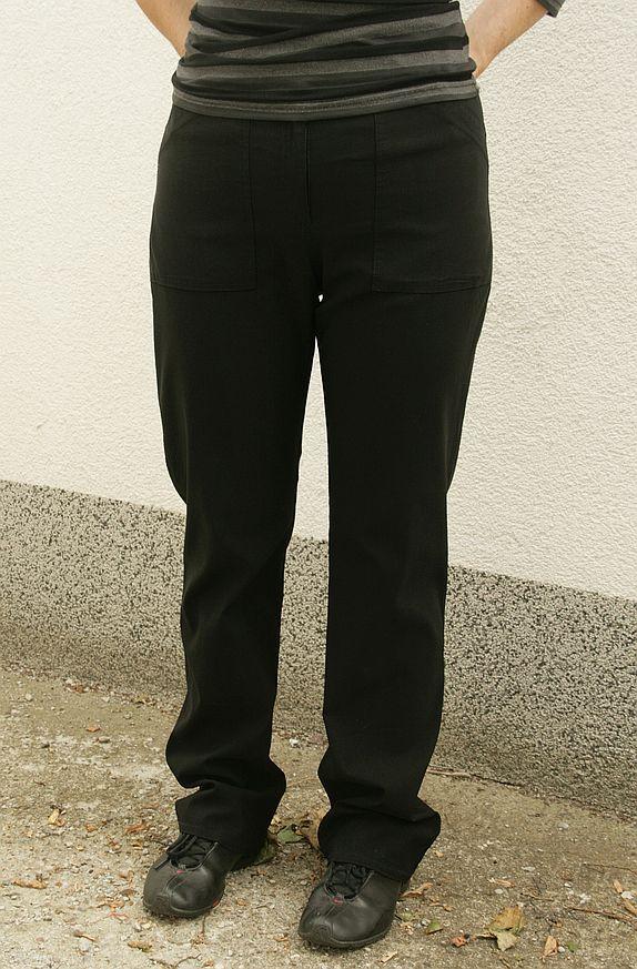 spodnie Vetti modelka 100 cm w biodrach, 163 cm wzrostu