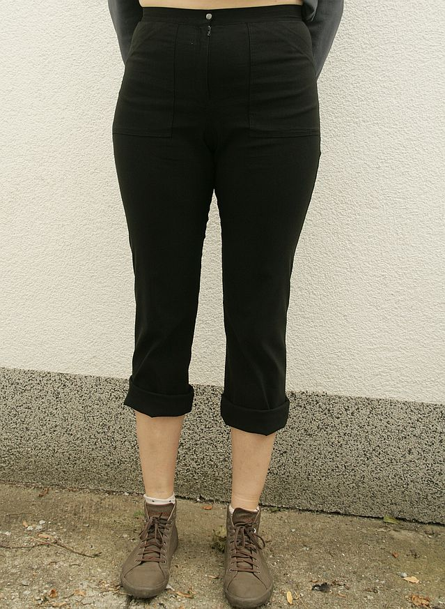 spodnie Vetti modelka 185 cm wzrostu, 108 w biodrach