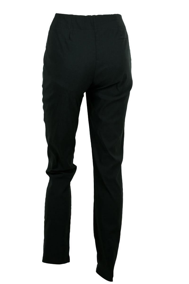 damskie elastyczne spodnie rurki (2)