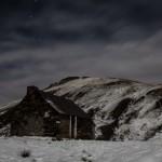 cabana w świetle księżyca