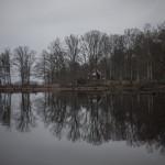Jezioro Immeln w Mjonas