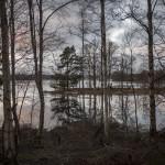 Szkiery na jeziorze Immeln