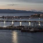 port w Ajaccio