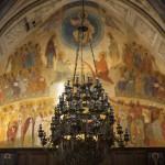 dziewiętnastowieczne malowidła w kościele greckokatolickim w Cargese
