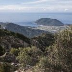 widok w strone wybrzaza Mare a Monti, Korsyka