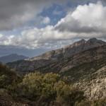 chwilowe przejaśnienie, Korsyka, Styczeń