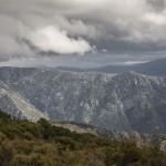 deszczowe chmurska, Korsyka styczeń