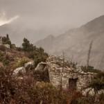 cabana i kapliczka świętego Antoniego, Korsyka, styczeń