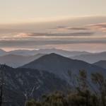 widok w stronę Revindy, Korsyka, Styczeń