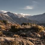 droga do Marignana, Korsyka, styczeń